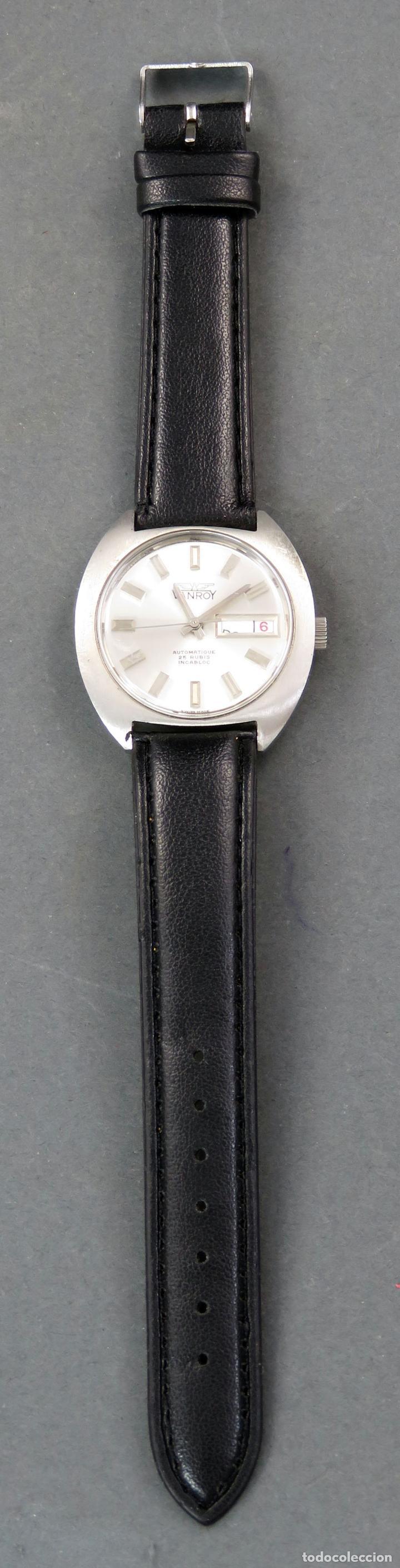 Relojes automáticos: Reloj automático Vanroy Automatique 25 rubis Incabloc Swiss Made Funciona - Foto 2 - 143166606