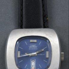 Relojes automáticos: RELOJ AUTOMÁTICO VANROY AUTOMATIC 25 JEWELS INCABLOC SWISS MADE FUNCIONA. Lote 143166914
