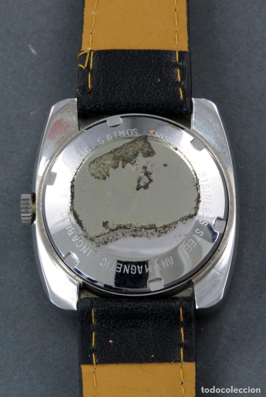 Relojes automáticos: Reloj automático Vanroy Automatic 25 jewels Incabloc Swiss Made Funciona - Foto 3 - 143166914
