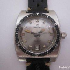 Relojes automáticos: RADIANT AUTOMATIC DE BUCEO DIVER AÑOS 70 - CALIBRE ETA 2452 - TODO DE ACERO. Lote 143168842