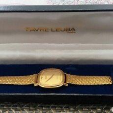 Relojes automáticos: RELOJ QUARTZ DE PULSERA BAÑO DE ORO.. Lote 143258230