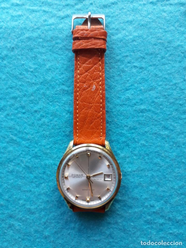 Relojes automáticos: Reloj Marca Pomar. Automático de caballero. Funcionando - Foto 5 - 143283274
