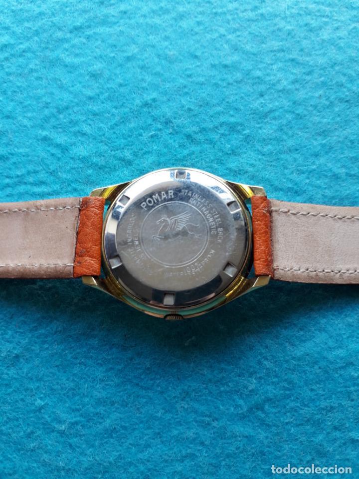 Relojes automáticos: Reloj Marca Pomar. Automático de caballero. Funcionando - Foto 6 - 143283274