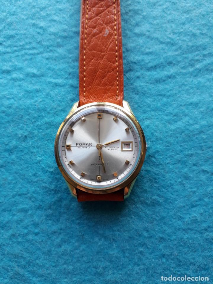Relojes automáticos: Reloj Marca Pomar. Automático de caballero. Funcionando - Foto 8 - 143283274
