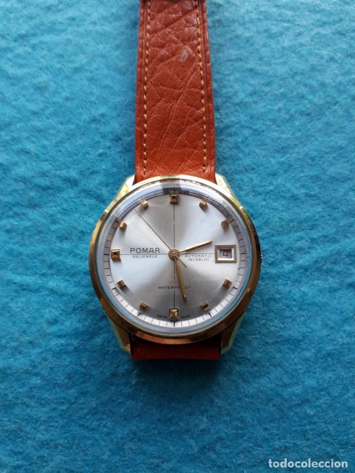 Relojes automáticos: Reloj Marca Pomar. Automático de caballero. Funcionando - Foto 10 - 143283274