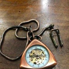 Relojes automáticos: RELOJ DE BOLSILLO AUTOMATICO - FUNCIONANDO PERFECTAMENTE. Lote 143360798