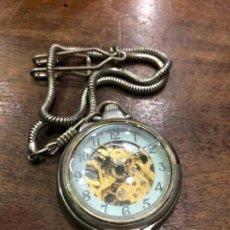 Relojes automáticos: RELOJ DE BOLSILLO AUTOMATICO - FUNCIONANDO PERFECTAMENTE. Lote 143361862