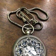 Relojes automáticos: RELOJ DE BOLSILLO AUTOMATICO - FUNCIONANDO PERFECTAMENTE. Lote 143362186