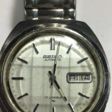Relojes automáticos: RELOJ SEIKO AUTOMATICO ESFERA DAMERO O BISELADA 7000.8230 FUNCIONA. Lote 143724810