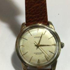 Relojes automáticos: RELOJ VINCA AUTOMÁTICO 25 RUBIS CAJA DE ORO Y ACERO 14KL PARA COLECCIONISTAS. Lote 143744196