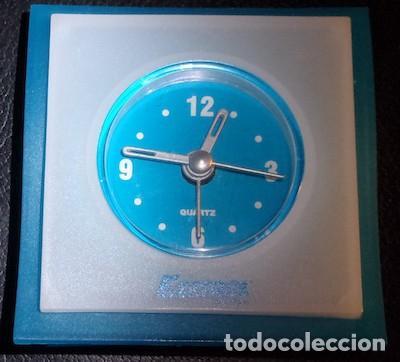 RELOJ QUARTZ DE SOBREMESA A PILAS COBN PUBLICIDAD DE MEDICINA, EZETROL (Relojes - Relojes Automáticos)