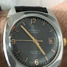 Relojes automáticos: RELOJ AUTOMÁTICO HORALIS 25 RUBIS CALENDAR INCALBLOC. Lote 143815100