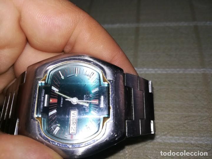 Relojes automáticos: Muy raro citizen automático con cristal central en relieve 21 jewels funcionando miren fotos - Foto 2 - 144436974
