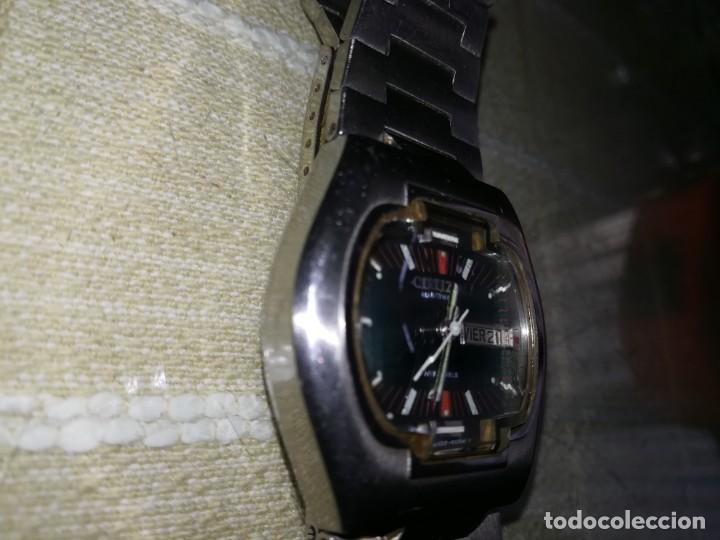 Relojes automáticos: Muy raro citizen automático con cristal central en relieve 21 jewels funcionando miren fotos - Foto 8 - 144436974