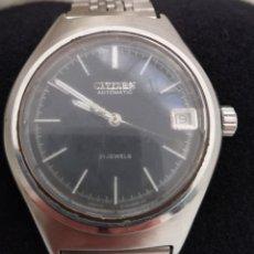 Relojes automáticos: RELOJ CITIZEN AUTOMÁTICO 21 JEWELS.. Lote 144643430