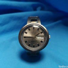 Relojes automáticos: RELOJ POTENS DE LUXE AUTOMATIC INCABLOC. SWISS MADE. VINTAGE CON PULSERA MUNCHEN 72. FUNCIONANDO. Lote 144701244