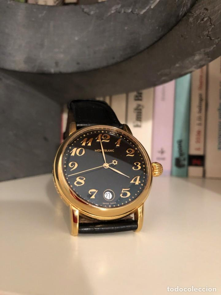 27f45365dcc RELOJ MONTBLANC STAR MEISTERSTÜCK 7002 CABALLERO UNISEX AÑO 2002 (Relojes -  Relojes Automáticos)