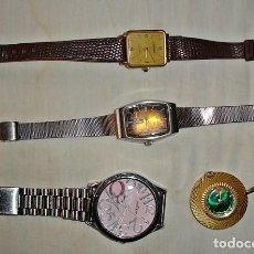 Relojes automáticos: LOTE 4 RELOJES ROTOS AVERIADOS. Lote 145405702