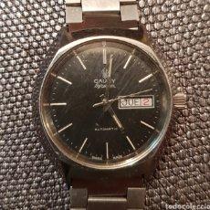 Relojes automáticos: RELOJ CAUNY AUTOMÁTICO VINTAGE 1970 HOMBRE. Lote 145547804