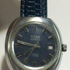 Relojes automáticos: RELOJ TITAN TENOX AUTOMATICO ,EN BUEN ESTADO FUNCIONA. Lote 145612474