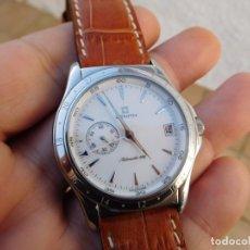 Relojes automáticos: RELOJ ZENITH AUTOMÁTICO DOBLE USO HORARIO. Lote 145957674