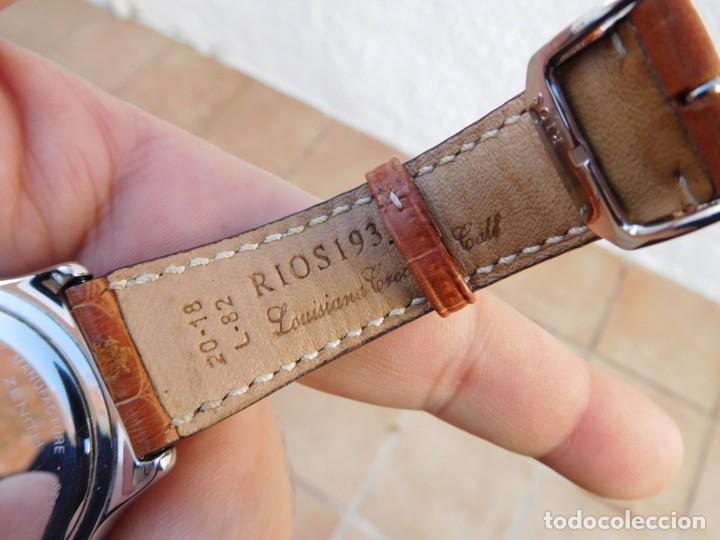 Relojes automáticos: Reloj Zenith automático doble uso horario - Foto 9 - 145957674