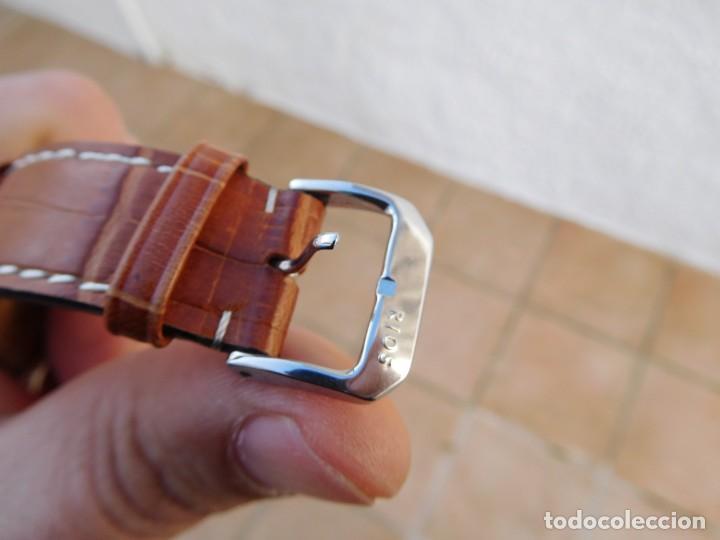 Relojes automáticos: Reloj Zenith automático doble uso horario - Foto 10 - 145957674