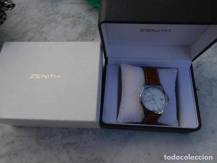 Relojes automáticos: Reloj Zenith automático doble uso horario - Foto 11 - 145957674