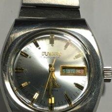 Relojes automáticos: RELOJ DUWARD AUTOMÁTICO AQUASTAR 200 METROS EN ACERO Y DIAL ESPECIAL. Lote 146618654