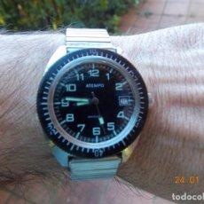 Relojes automáticos: RELOJ AUTOMATICO SUMERGIBLE AÑO 1970. Lote 147070098