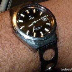 Relojes automáticos: SOLIDO RELOJ YEMA SOUS MARINE CALIBRE FE 3611 AUTOMÁTICO VINTAGE AÑOS 60. Lote 147235238