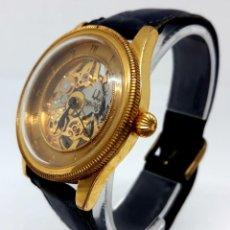 Relojes automáticos: RELOJ SUIZO AUTOMATICO BULOVA CHAPADO EN ORO. Lote 147314798