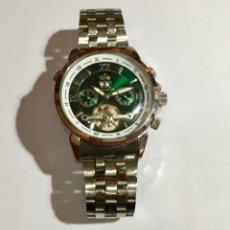 Relojes automáticos: LINDBERQ & SONS. 46,5 M/M. C/C. CUERDA Y AUTOMATICO , CALENDARIO , MAQUINA VISTA .. Lote 128721719