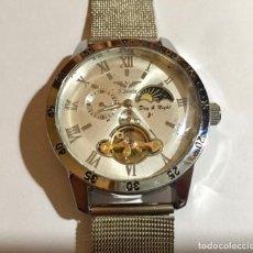 Relojes automáticos: MINOIR AUTOMATICO, MULTIFUNCION, CAJA CROMADA 45 M/M.C/C. MAQUINA VISTA POR DETRAS. . Lote 147452814