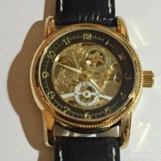 Relojes automáticos: ORKINA AUTOMATICO Y CUERDA 44 M/M.C/C.MAQUINA VISTA POR AMBAS CARAS.. Lote 147465470