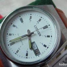 Relojes automáticos: RELOJ CITIZEN CLASICO AUTOMATICO ESFERA BLANCA. Lote 147562734
