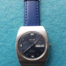 Relojes automáticos: RELOJ MARCA SAVAR. AUTOMÁTICO DE CABALLERO. FUNCIONANDO.. Lote 147725946