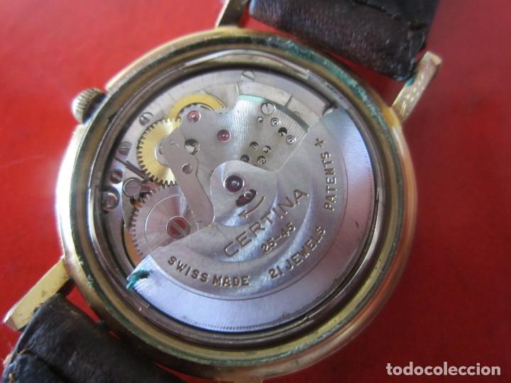 Relojes automáticos: Reloj de caballero automatico marca Certina - Foto 2 - 147820918