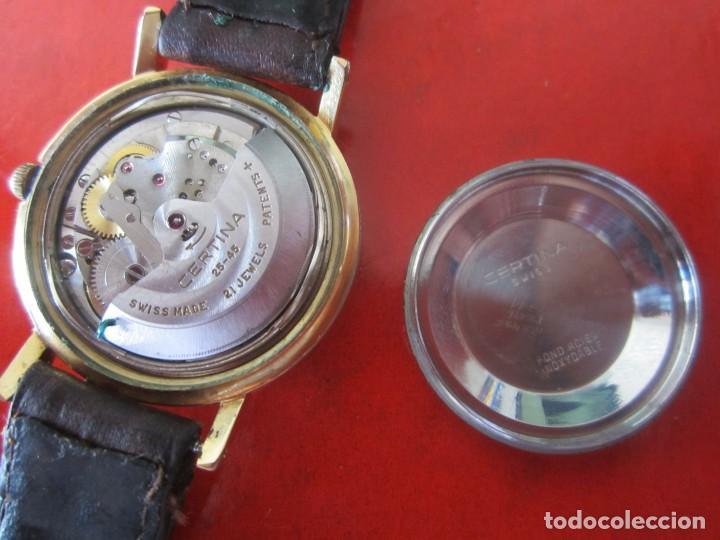 Relojes automáticos: Reloj de caballero automatico marca Certina - Foto 3 - 147820918