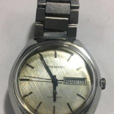 Relojes automáticos: RELOJ DOLMARU AUTOMATICO,FUNCIONA TODO DE ORIGEN. Lote 148046546