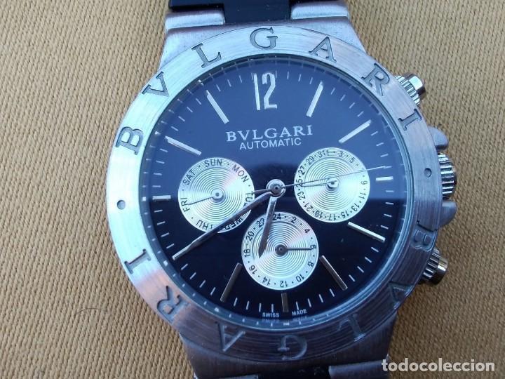 d550cea73d0 Reloj ( Bvlgari - SD 38 S. - - - L 2161 ) AUTOMÁTICO FUNCIONANDO. Buen  estado.
