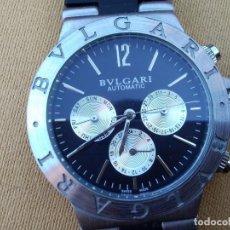 Relojes automáticos: RELOJ ( BVLGARI - SD 38 S. - - - L 2161 ) AUTOMÁTICO FUNCIONANDO. BUEN ESTADO. . Lote 148445870
