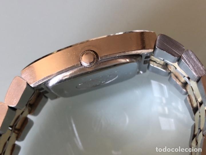 Relojes automáticos: RELOJ OMEGA CONSTELLATION CAJA ACERO Y ARMIS OMEGA EN ACERO Y ORO 18 QUiLATES AÑO 70. BISEL EN ORO - Foto 8 - 148561530