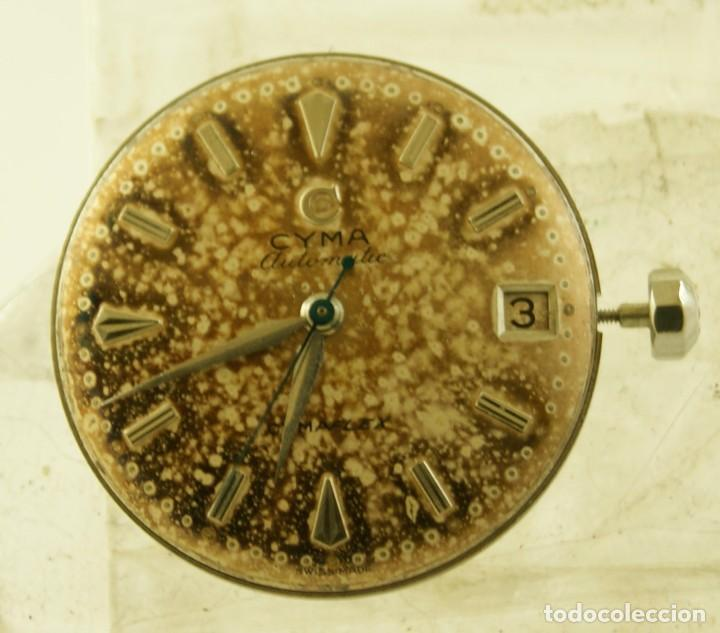Relojes automáticos: RARO CALIBRE CYMA R425 BUMPER CON ESFERA AGUJAS Y CORONA CYMAFLEX - Foto 3 - 148898462