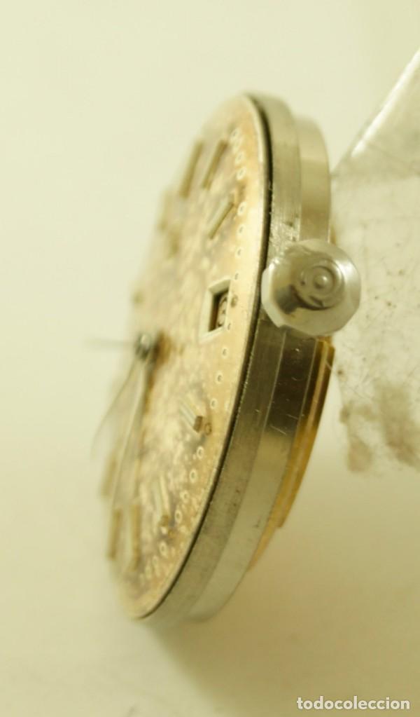 Relojes automáticos: RARO CALIBRE CYMA R425 BUMPER CON ESFERA AGUJAS Y CORONA CYMAFLEX - Foto 4 - 148898462