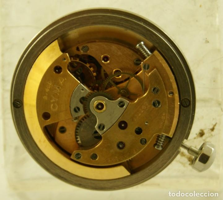 Relojes automáticos: RARO CALIBRE CYMA R425 BUMPER CON ESFERA AGUJAS Y CORONA CYMAFLEX - Foto 5 - 148898462
