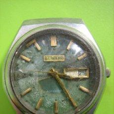 Relojes automáticos: ANTIGUO RELOJ DE DUWUAR.NO FUNCIONA. Lote 148928822