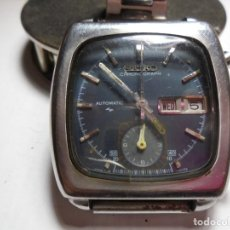 Relojes automáticos: MAGNIFICO RELOJ ANTIGUO SEIKO AUTOMATICO CHONOGRAPH DE CABALLERO,SALIDA 1 EURO. Lote 151147672