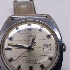 Relojes automáticos: RELOJ TIMEX AUTOMÁTICO PARA PIEZAS O ARREGLAR EL RELOJ VA PERO LA TIJA NO FUNCIONA. Lote 149510998
