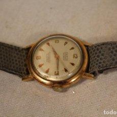 Relojes automáticos: RELOJ DE PULSERA AUTOMÁTICO CHAPADO ORO ZENTA 30 JEWEL INCABLOC PARA CABALLERO. Lote 149782154